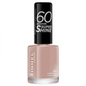 Rimmel 60 Seconds Nail Polish Caramel Cupcake