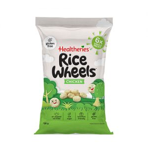 Healtheries Rice Wheels Chicken 125g