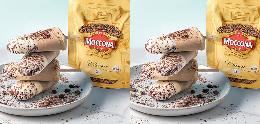 5-ingredient homemade moccona coffee popsicles