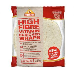 Mission High Fibre Vitamin Enriched Wrap