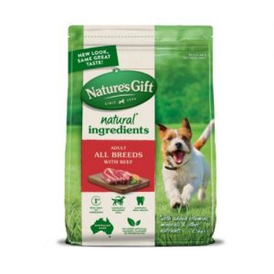 Nature's Gift - All Breeds with Beef Dry Dog Food
