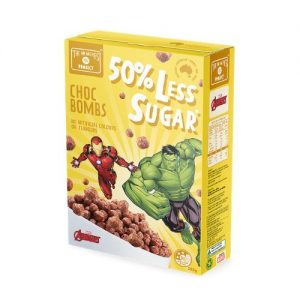 The No Nasties Project - Choc Bombs 50% Less Sugar Cereal