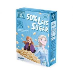 The No Nasties Project - Rice Pops 50% Less Sugar Cereal