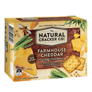 The Natural Cracker Co Cheddar
